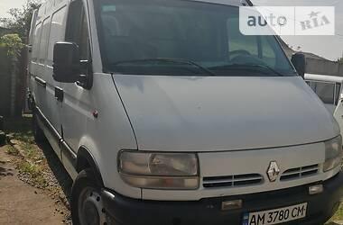 Renault Master груз. 2002 в Житомире