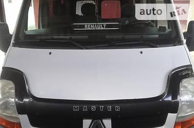 Легковой фургон (до 1,5 т) Renault Master пасс. 2006 в Львове