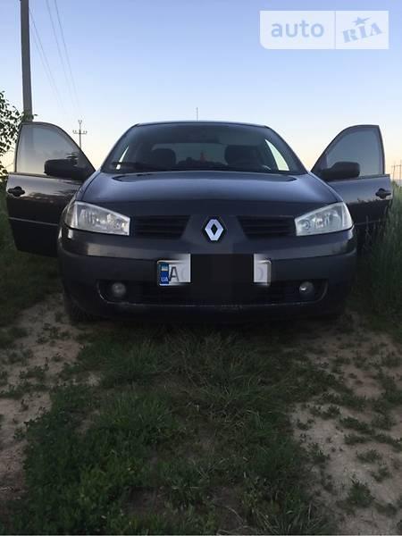 Renault Megane 2005 года