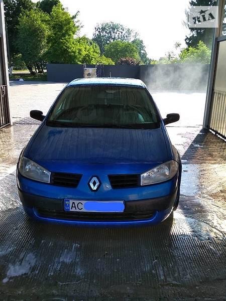 Renault Megane 2004 года в Луцке