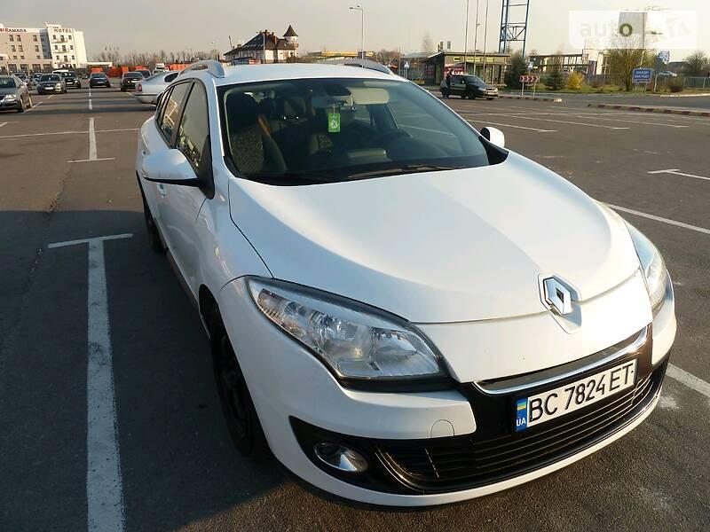 Унiверсал Renault Megane 2012 в Львові
