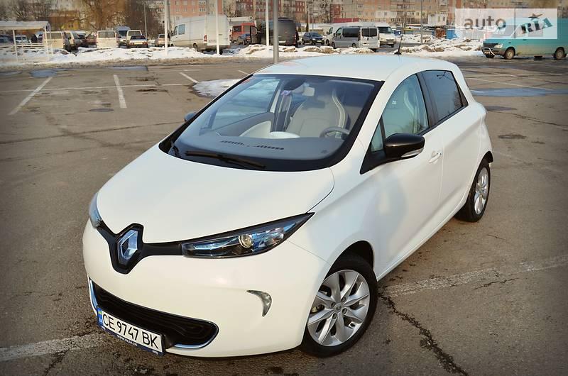 Renault Zoe 2013 года