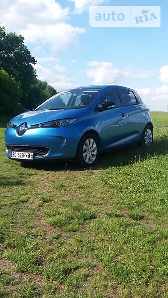 Renault Zoe 2016 года