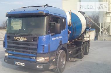Бетонозмішувач (Міксер) Scania P 2001 в Миколаєві