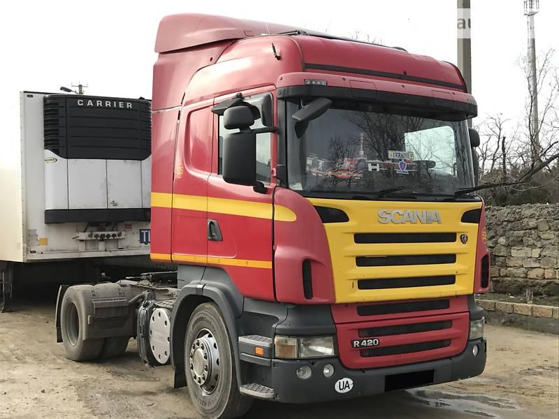 Тягач Scania R 420 2007 в Білгороді-Дністровському