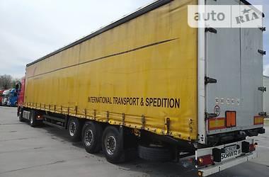 Тентованный борт (штора) - полуприцеп Schmitz Cargobull S01 2007 в Стрые