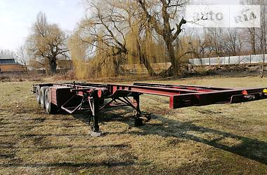 Контейнеровоз полуприцеп Schmitz Cargobull SCS 1989 в Черкассах