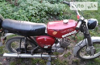 Simson S51 1982 в Львове