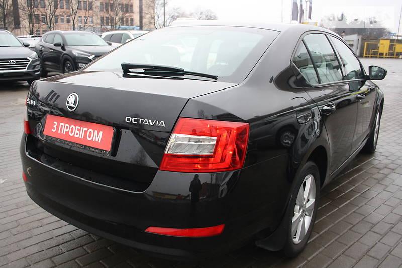 Skoda Octavia A7 Официальное Авто 2015