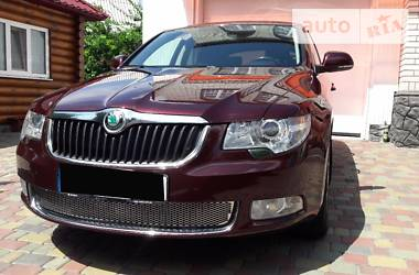 Skoda SuperB New 2012