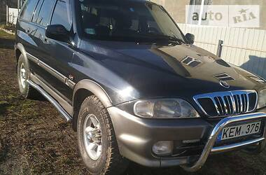 SsangYong Musso 2002 в Дубно