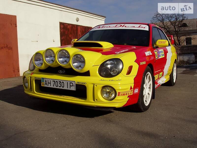 Subaru Impreza 2002 в Мариуполе