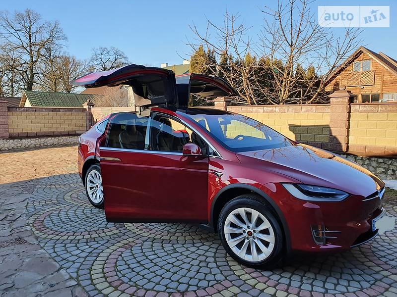 Tesla Model X 2018 в Тернополе