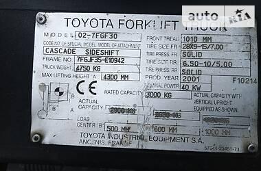 Toyota 02-7FGF30 2001 в Киеве