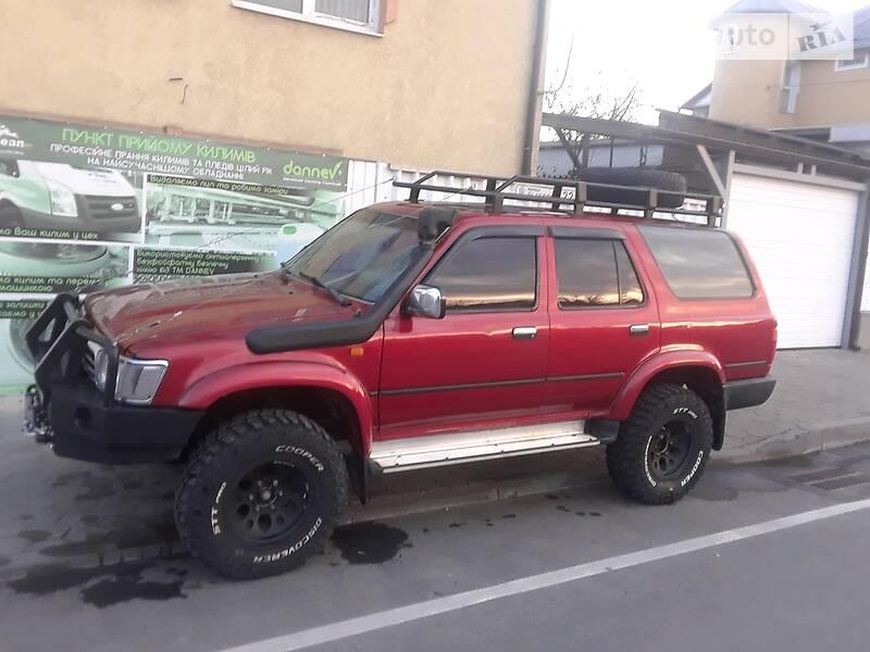 Toyota 4Runner 1992 в Ивано-Франковске