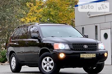 Toyota Highlander 2002 в Одессе