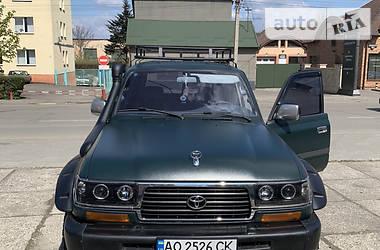 Внедорожник / Кроссовер Toyota Land Cruiser 80 1996 в Ужгороде