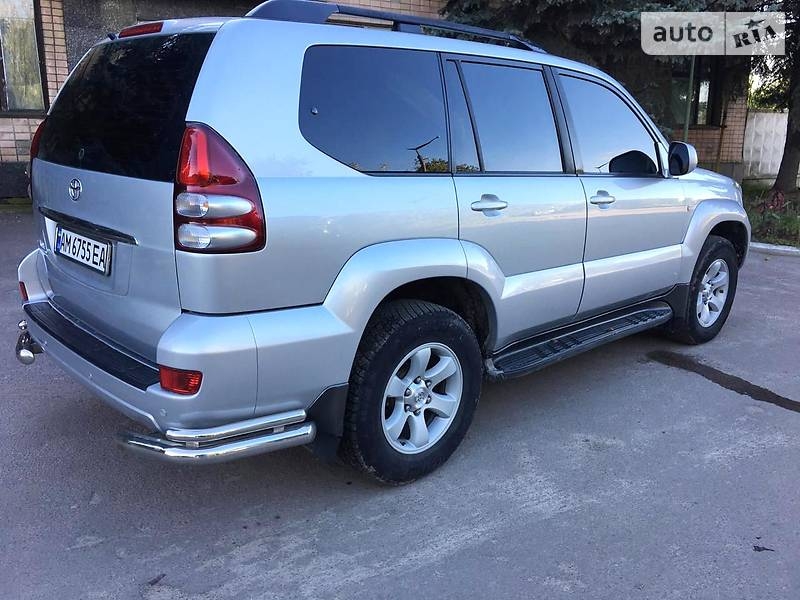 Позашляховик / Кросовер Toyota Land Cruiser Prado 120 2008 в Житомирі