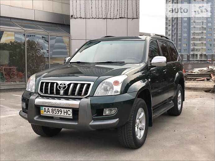 Toyota Land Cruiser Prado 2007 року в Києві