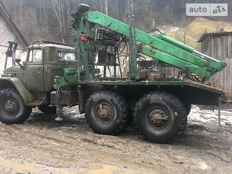 Урал 375 1989 в Рахові