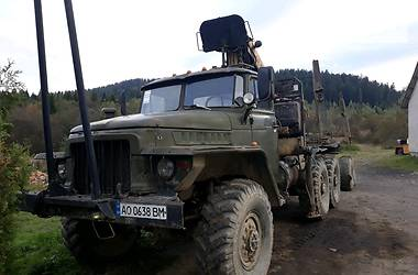 Урал 375 1981 в Міжгір'ї