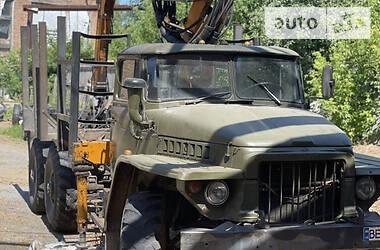 Кран-маніпулятор Урал 375 2001 в Козелеці