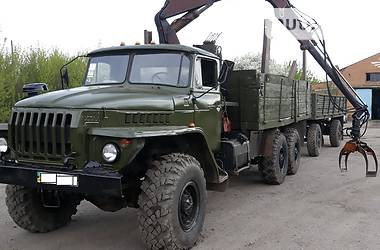 Урал 4320 1993 в Староконстантинове