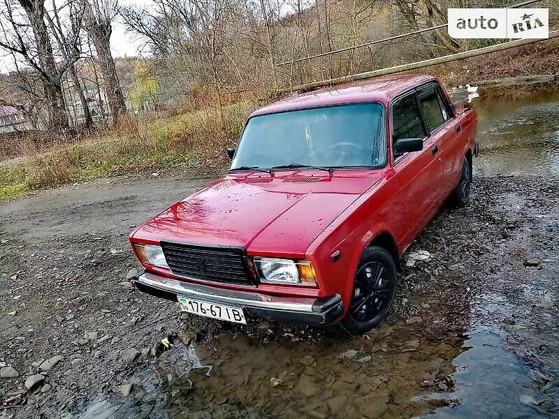 ВАЗ 2107 1986 в Рожнятове