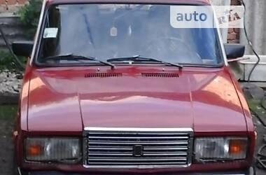 Седан ВАЗ 2107 1987 в Зборове