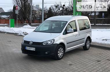 Volkswagen Caddy пасс. COMFORTLINE NAVI 2011