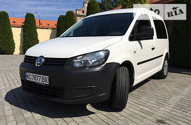 Volkswagen Caddy пасс. 2011 в Жовкве