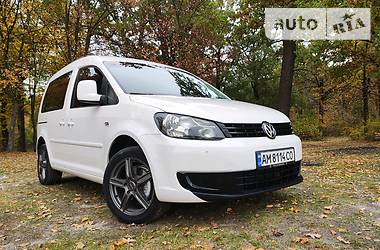 Volkswagen Caddy пасс. 2014 в Бердичеве