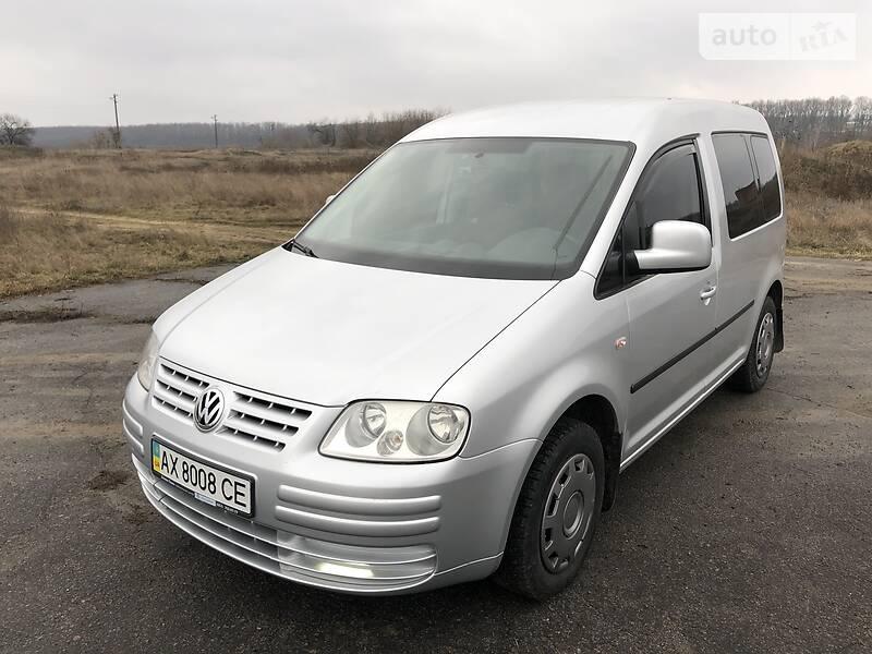 Volkswagen Caddy пасс. 2010 в