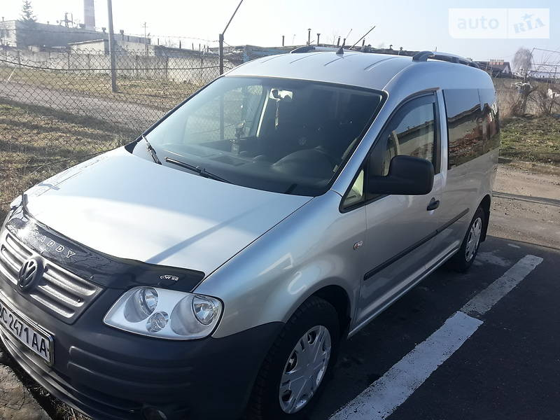 Volkswagen Caddy пасс. 2007 в Бориславе