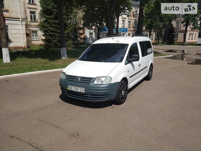Volkswagen Caddy пасс. MAXI 2.0 TDI, 140л.с