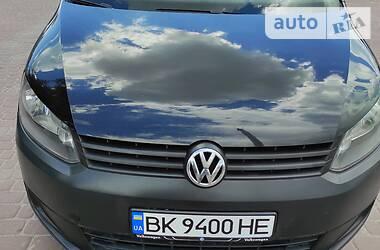 Легковой фургон (до 1,5 т) Volkswagen Caddy пасс. 2011 в Ровно