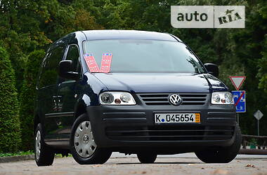 Мінівен Volkswagen Caddy пасс. 2010 в Дрогобичі