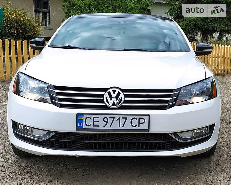 Седан Volkswagen Passat B7 2014 в Черновцах