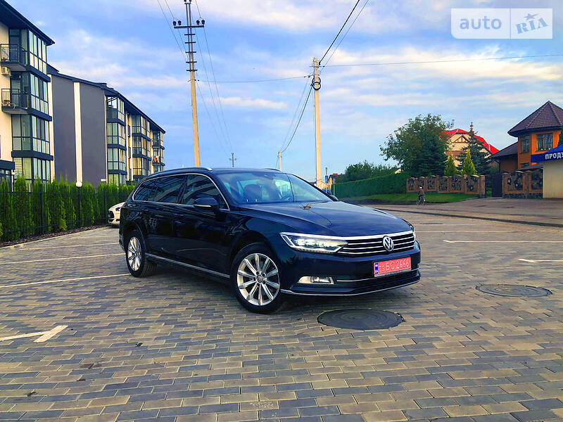 Volkswagen Passat B8 2016 в Луцьку