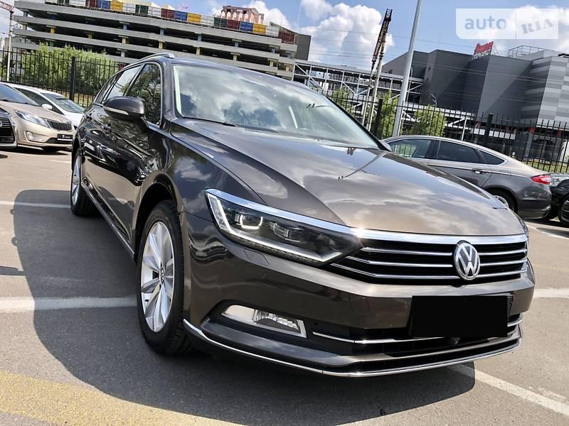 Универсал Volkswagen Passat B8 2016 в Киеве