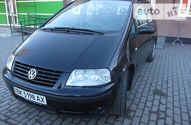 Volkswagen Sharan 2002 в Рокитном