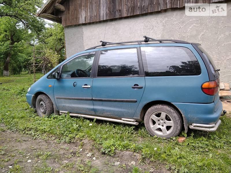 Минивэн Volkswagen Sharan 1996 в Львове