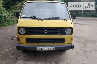 Volkswagen T3 (Transporter) груз. 1986 в Львове