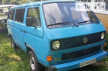 Легковой фургон (до 1,5 т) Volkswagen T3 (Transporter) груз. 1983 в Межгорье