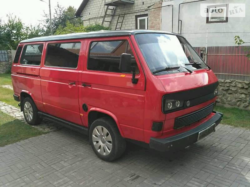 красный транспортер т3