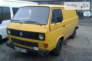 Volkswagen T3 (Transporter)  1987