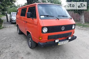 Volkswagen T3 (Transporter) 1986 в Черновцах