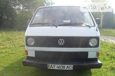 Volkswagen T3 (Transporter) 1987 в Коломые