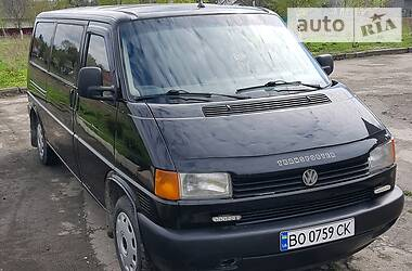 Volkswagen T4 (Transporter) груз-пасс. 1997 в Кременце