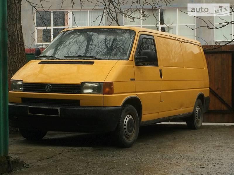 Volkswagen T4 (Transporter) груз 2000 в Львове